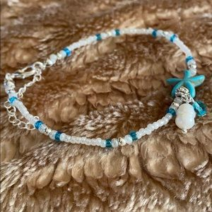 Jewelry - 😎NEW Set of 3 Handmade Starfish Ankle Bracelets
